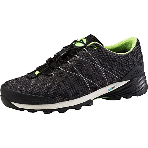 McKinley Herren Wander Trekking Outdoor Schuhe Arizona AQX Aquamax Pro 274478 , Größe:44, Farbe:902 BLACK GREEN / Schwarz grün