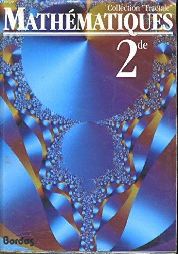 Mathématiques, 2e. Livre de l'élève