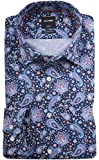 Olymp Modern Fit Chemise à Manches Longues pour Homme - Bleu - Taille col: 43