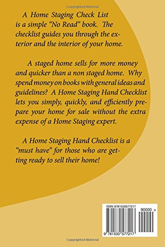 A Home Staging Check List