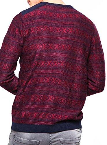 Jack & Jones Herren Pullover Rot