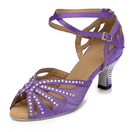 Miyoopark , Salle de bal femme Purple-6cm heel