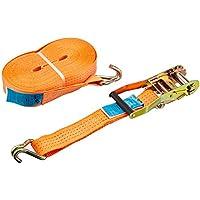 Kerbl Sangle d'Arrimage Capacité de 4000 kg pour Élevage/Agriculture Urbaine Orange 15 m x 50 mm