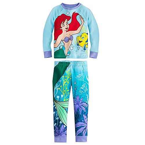 Disney M?dchen Ariel und Flunder PJ PALS Pyjamas Gr??e 2