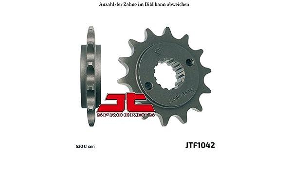 Ritzel 15 Z/ähne f/ür Trasher 320 Supermoto Baujahr 2012-2016 von jtSprockets