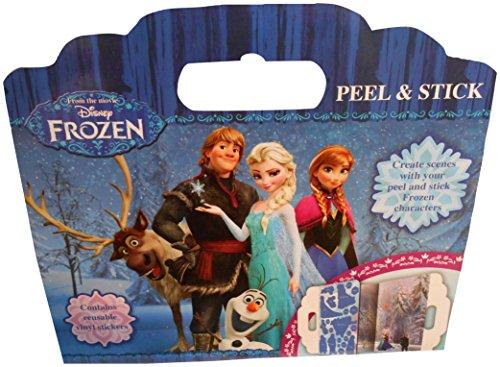 La Reine des Neiges - Fnpas - Disney - Autocollant Repositionnable - Peel Et Stick