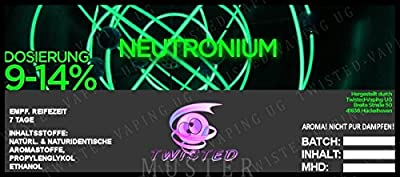 Twisted Aroma Neutronium von Twisted Vaping