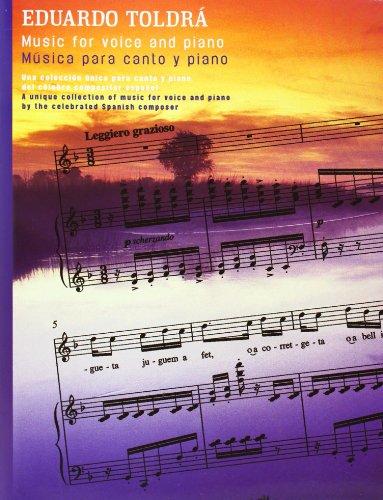 Eduardo Toldra: Music for Voice and Piano por Eduardo Toldra