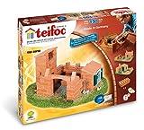 Teifoc 8010 Steinbaukasten mit 3 Bauplänen
