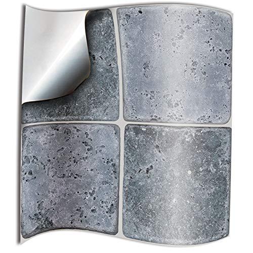 Tile Style Decals 24 stück Fliesenaufkleber für Küche und Bad NTP08 6