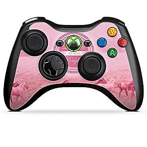 DeinDesign Skin kompatibel mit Microsoft Xbox 360 Controller Aufkleber Folie Sticker Ponyhof Pferde Horses
