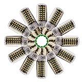 Xindaxin - Lampadina LED E27, ad alta luminosità e basso consumo energetico, 7 W, equivalente a lampadina a incandescenza da 70 W, , luce bianca calda, 3000 K, confezione da 12