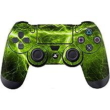 DOTBUY PS4 Controlador Diseñador Piel para Sony PlayStation 4 mando inalámbrico DualShock x 1 (Electric Green)