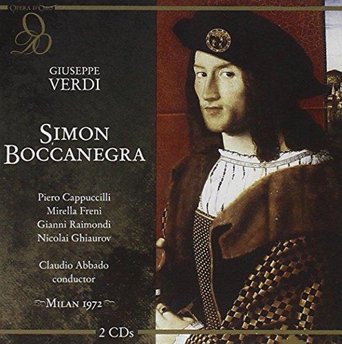Verdi : Simon Boccanegra. Abbado, Cappuccilli, Freni