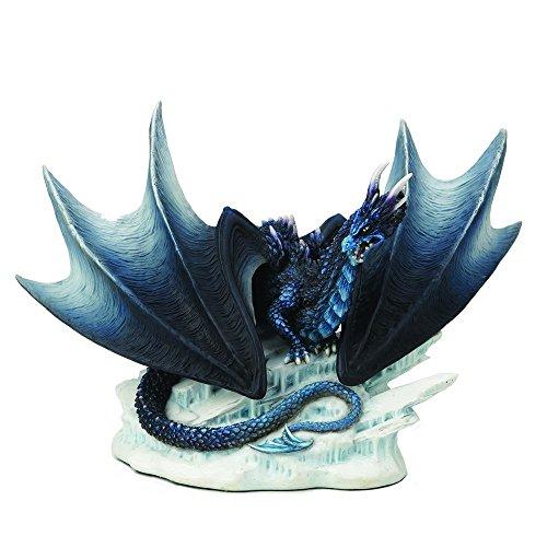 Nemesis Now Figura de dragón negro Buran de Andrew Bill – 22,5 cm