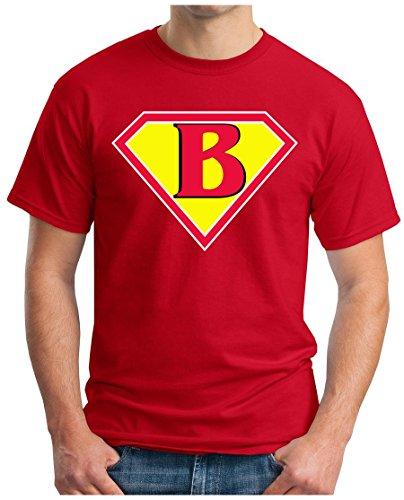 OM3 - BIG-BANG-SUPER-B - T-Shirt NERD SWAG ATOM PENNY GEEK EMO FUN SITCOM TBBT SARCASM PARODY, S - 5XL Rot