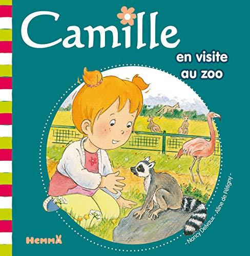 Camille en visite au Zoo