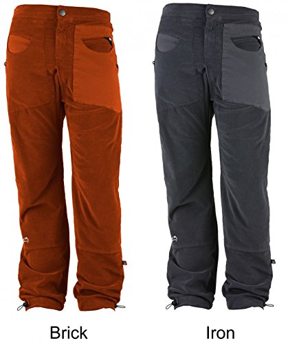 E9Blat 1vs Men-Pantaloni da arrampicata Nero m