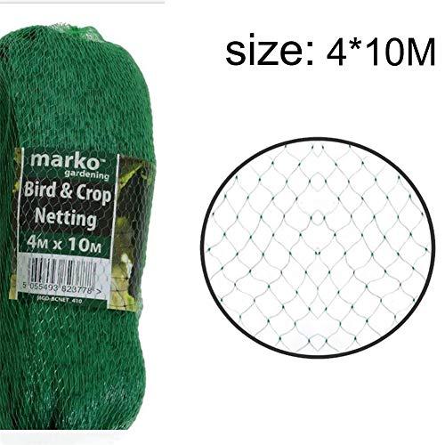 Chengstore Garden Netting, Polietileno Anti Bird Net, Bird Netting Green Garden contra Bird Pond Netting para La Protección De Plantas Red De Malla para El Control De Plagas, Pea Fruit Netting