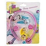 Soy Luna Blíster de 7 Piezas de Accesorios para Pelo, Unica (Kids Euroswan WDSL072)