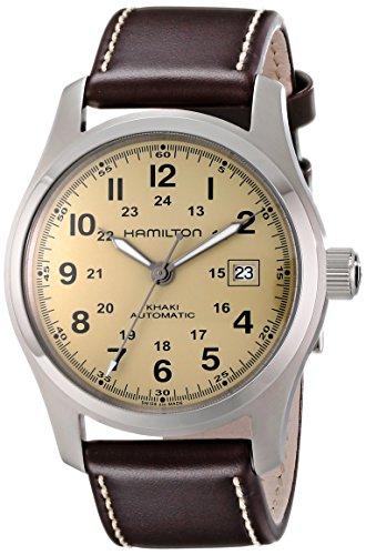 Hamilton Khaki Field Automatic Silber Uhr H70555523