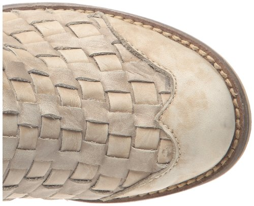Feud Britannia Cracker, Boots femme Blanc Cassé