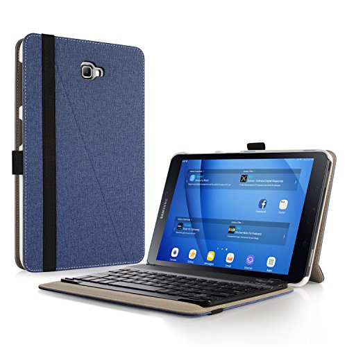 Infiland Teclado Funda Compatible for Samsung Galaxy Tab A 10.1,Ultra Fino Case...