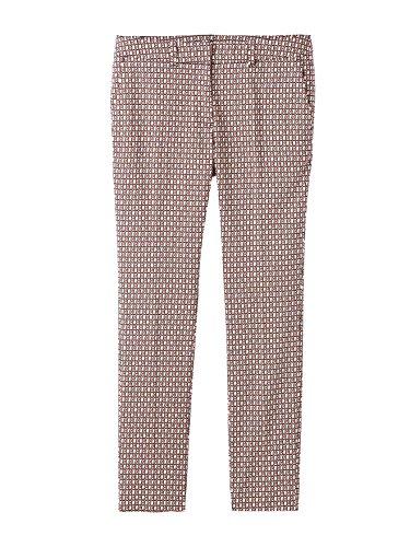 Balsamik - Pantaloni affusolati con stampa - donna - Size : 46 - Colour : Stampato terracotta