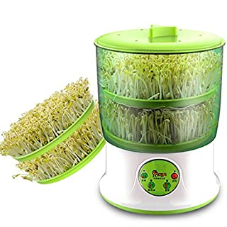 Ajusen Intelligence Bean Sprouter Upgrade Large Capacity Thermostat Green Seed Grower Full Automatic Seed Sprouers Machine