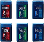 Engage On Man Pocket Perfume, 18ml (Pack of 6)