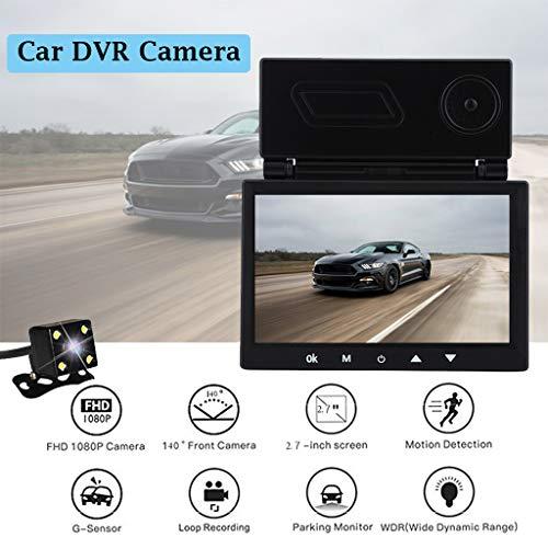 Leva llena del Video de la cámara del vehículo de DVR del coche de HD 1080P Con la pantalla DE 4.2 pulgadas (Camaras Hd Video De)