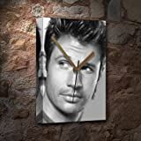 NICK LACHEY - Canvas Clock (A5 - Signed by the Artist) #js001