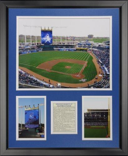 Legenden Sterben Nie Kansas City Royals-Kauffman Stadion New gerahmtes Foto Collage, 40,6x 50,8cm von Legends Never Die