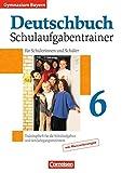 Deutschbuch Gymnasium - Bayern: 6. Jahrgangsstufe - Schulaufgabentrainer mit Lösungen - Winfried Kober