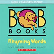 Bob Books - Rhyming Words Box Set | Phonics, Ages 4 and up, Kindergarten, Flashcards (Stage 1: Starting to Rea