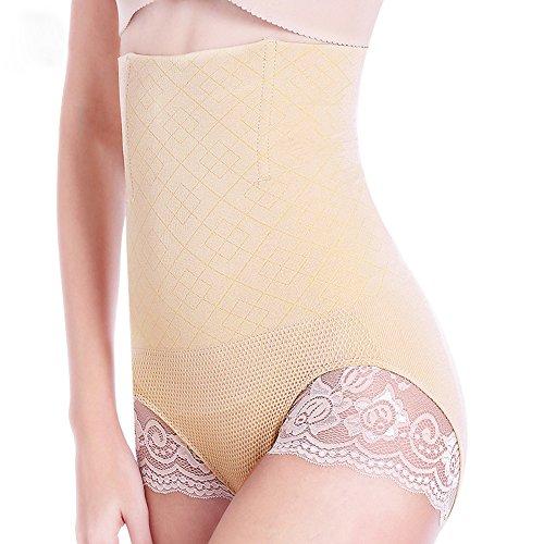 Damen High Taille Shapewear Control Korsett Schlankheits Höschen Unterwäsche sexy Lace Body Shaper