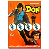 exciting Lives Don Movie Poster - Bollywood Amitabh Bachchan Poster