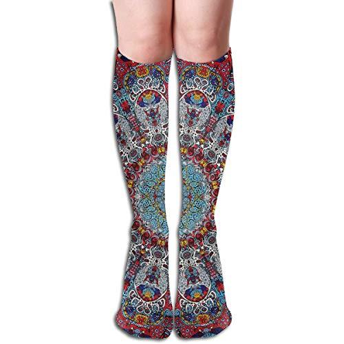 Socks, Glow in The Dark, Christmas Holidays Crazy Fun Colorful Fancy Socks, Winter Warm Stretchy Crew Socks ()