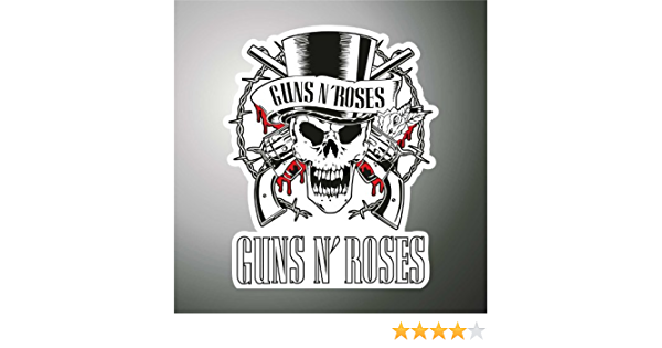 Graphic Lab Aufkleber Sticker Guns N Roses Hip Hop Rap Jazz Hard Rock Metal Pop Funk Sticker Küche Haushalt