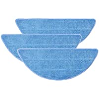 Recambios de Paños, Mopa de repuesto para Conga Excellence y ILIFE V3 V3s V5 V5s V5s pro Accesorios de Robotic Aspiradora Lavables, Material Premium, paquete de 3-280 x 115 mm