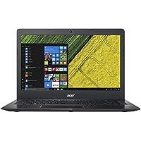 "Acer SF114-31-C24 - Ordenador Portátil de 14"" HD (Intel Celeron N3060, 4 GB RAM, 64 GB eMMc, Bluetooth 4.0, Windows 10); Negro - Teclado QWERT Español"