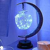 Handgefertigtes Hanf-Seil Schmiedeeisen Nachtlicht LED Nachttisch Lampe Schreibtisch Schlaf Nachtlicht Home Decor Beste für Weihnachten Geburtstag Geschenk