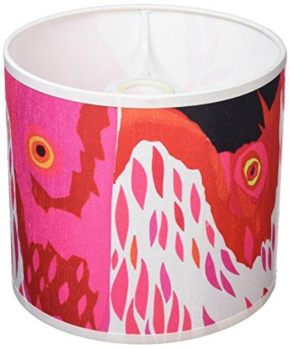 Chloe Croft London Limited magenta-Lampenschirm, andere, Rosa/Weiß/Rot/Schwarz -