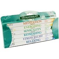 Aromatherapy Incense Sticks - Gift Set by Stamford PLUS Wooden Incense Holder by Stamford preisvergleich bei billige-tabletten.eu