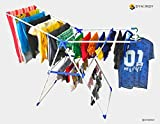 Synergy - Wing Style - Hi Quality Foldable Cloth Dryer / Clothes Drying Stand with Lifetime Warranty (SY-CS4)
