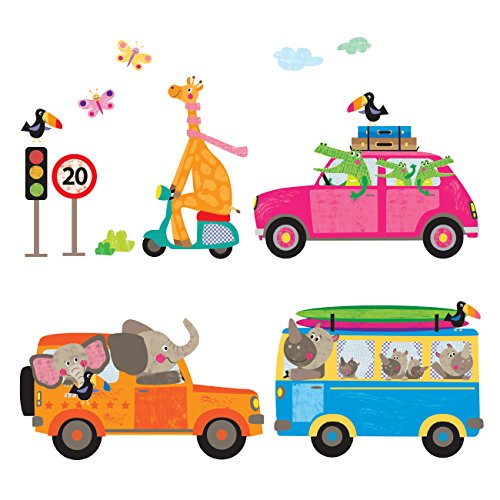 Enfant Sticker voitures