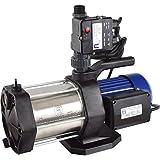 Agora-Tec® AT-Hauswasserwerk-5-1300-10DW, 5 stufige Kreiselpumpe mit max: 5,6 bar und max: 5400l/h und Druckschalter mit Trockenlaufschutz