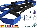 Orthocare S Suspension Trainer Fitness-Trainer Gurte Functional / Fitness-Trainer. Multi-Kit Stärkung, Muskelkraft und Muskelaufbau . Anker mit Tür und praktischer Transporttasche .