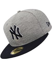 Casquette 59FIFTY Team Jersey Crown New York Yankees gris-bleu marine NEW ERA