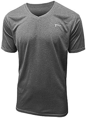 TREN Herren COOL Performance Intensity SS V-Neck Tee T-Shirt Kurzarm